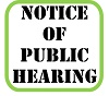 Notice of Public Hearing - 2015-2016 Budget for Milton Township